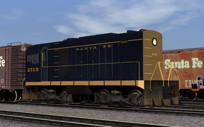 US_ATSF_HH660_Blue_Yellow